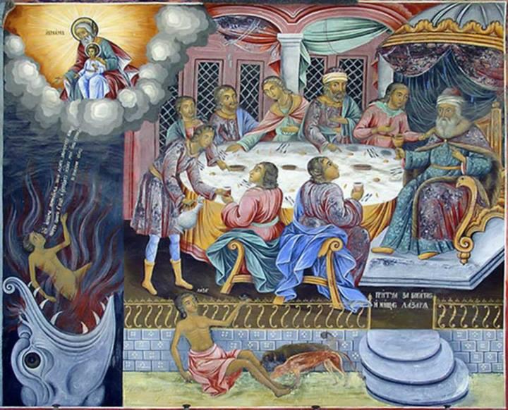 Bogatul şi săracul - Părintele Arsenie Boca